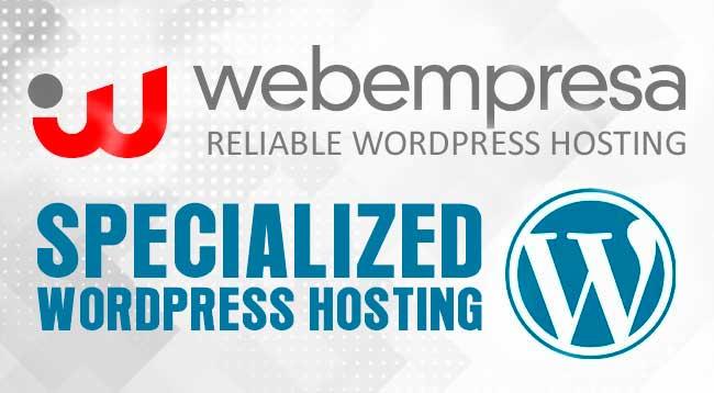 Specialized WordPress Hosting